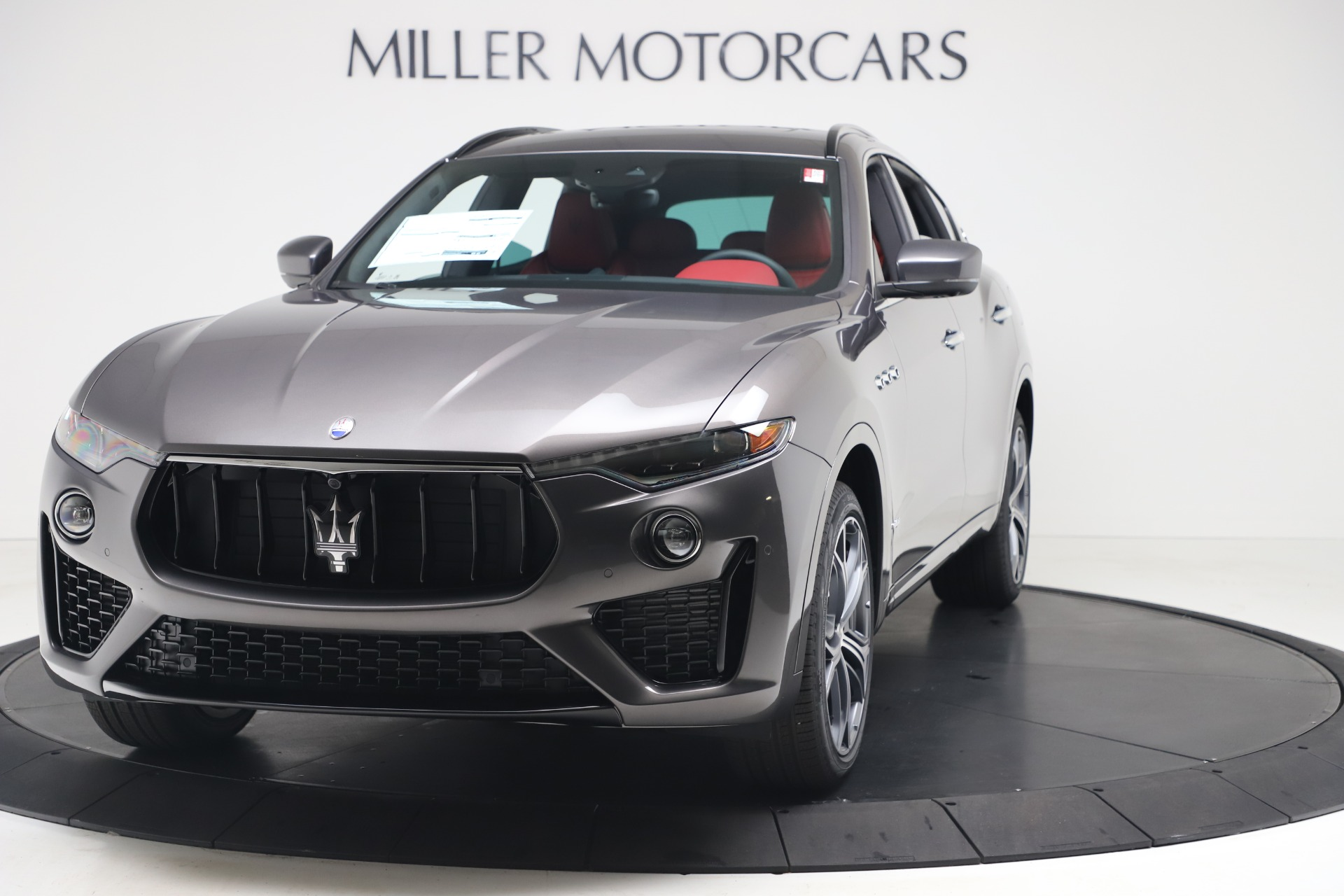 New 2020 Maserati Levante S Q4 GranSport for sale $101,535 at Bentley Greenwich in Greenwich CT 06830 1