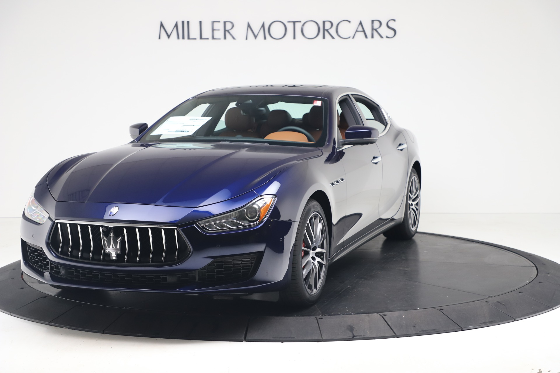 New 2020 Maserati Ghibli S Q4 for sale $85,535 at Bentley Greenwich in Greenwich CT 06830 1