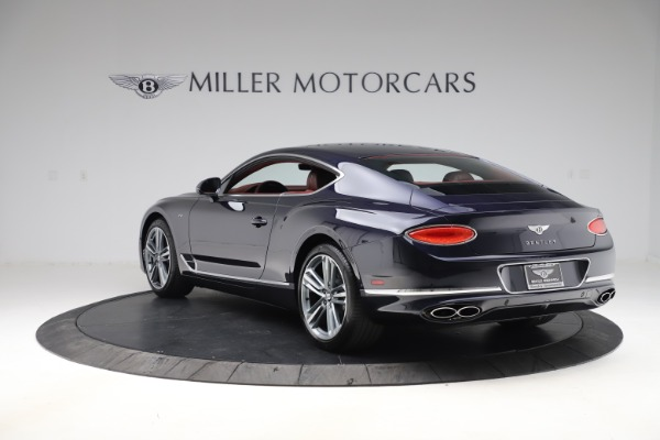 New 2020 Bentley Continental GT V8 for sale $242,250 at Bentley Greenwich in Greenwich CT 06830 5