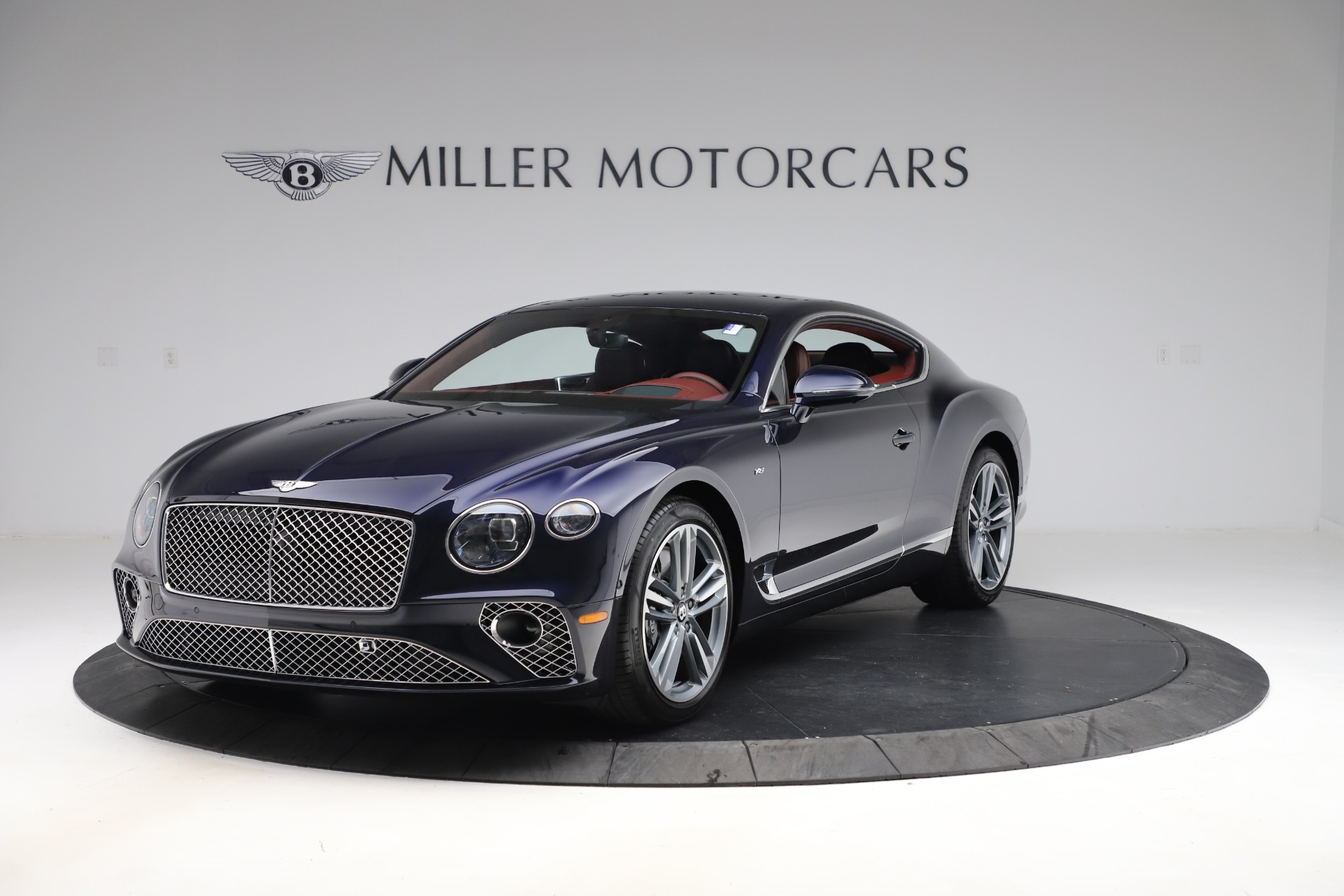 New 2020 Bentley Continental GT V8 for sale $242,250 at Bentley Greenwich in Greenwich CT 06830 1