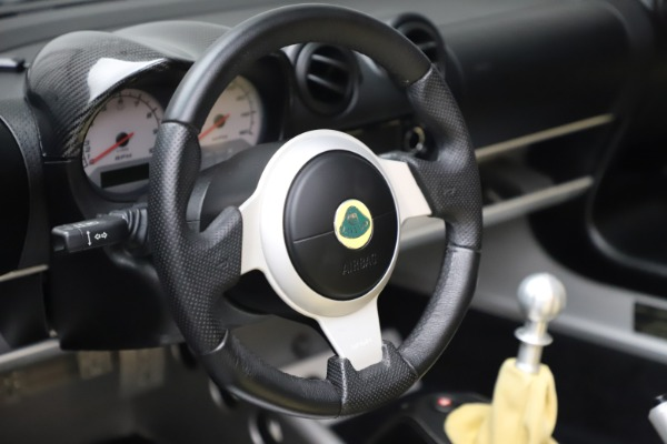 Used 2007 Lotus Elise Type 72D for sale $39,900 at Bentley Greenwich in Greenwich CT 06830 21