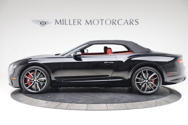 New 2020 Bentley Continental GTC V8 for sale $277,110 at Bentley Greenwich in Greenwich CT 06830 14
