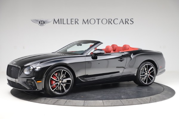 New 2020 Bentley Continental GTC V8 for sale $277,110 at Bentley Greenwich in Greenwich CT 06830 2