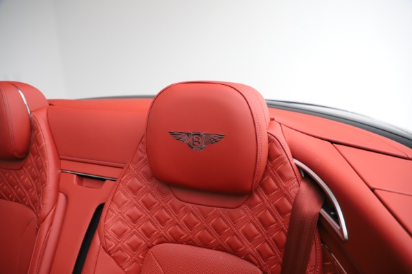 New 2020 Bentley Continental GTC V8 for sale $277,110 at Bentley Greenwich in Greenwich CT 06830 25