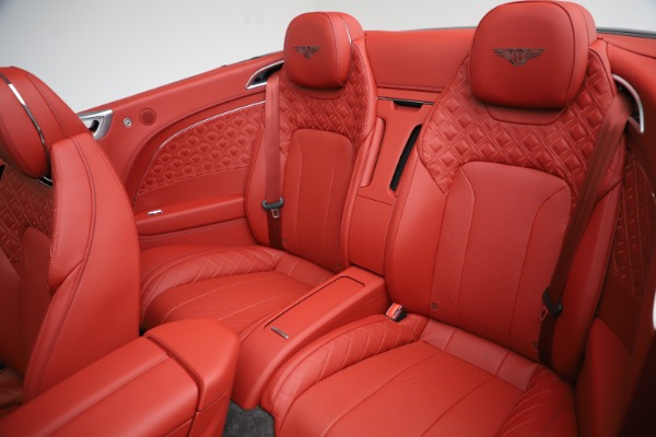 New 2020 Bentley Continental GTC V8 for sale $277,110 at Bentley Greenwich in Greenwich CT 06830 26