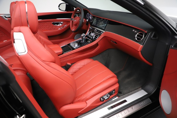 New 2020 Bentley Continental GTC V8 for sale $277,110 at Bentley Greenwich in Greenwich CT 06830 28