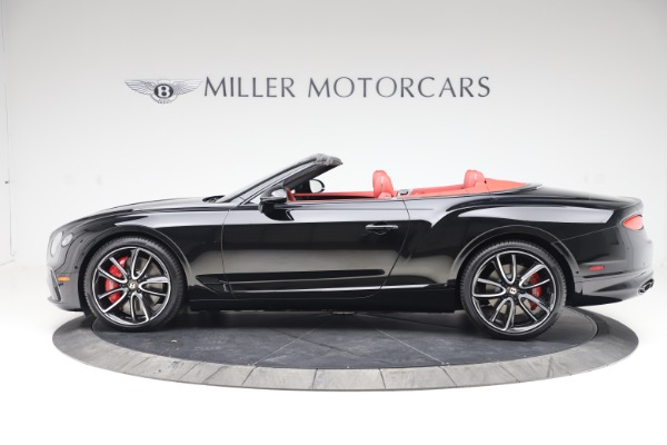 New 2020 Bentley Continental GTC V8 for sale $277,110 at Bentley Greenwich in Greenwich CT 06830 3
