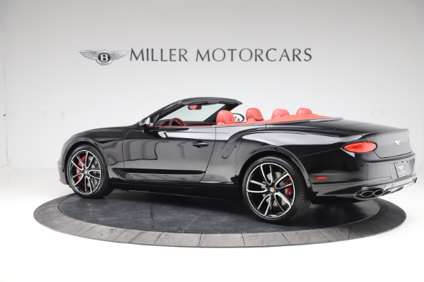 New 2020 Bentley Continental GTC V8 for sale $277,110 at Bentley Greenwich in Greenwich CT 06830 4