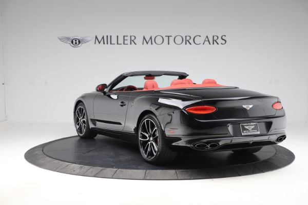 New 2020 Bentley Continental GTC V8 for sale $277,110 at Bentley Greenwich in Greenwich CT 06830 5