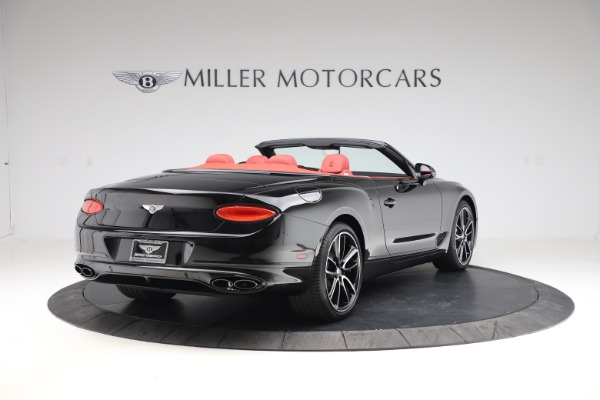 New 2020 Bentley Continental GTC V8 for sale $277,110 at Bentley Greenwich in Greenwich CT 06830 7