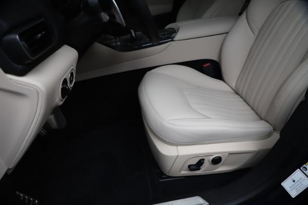 New 2020 Maserati Levante S Q4 GranLusso for sale $97,335 at Bentley Greenwich in Greenwich CT 06830 15