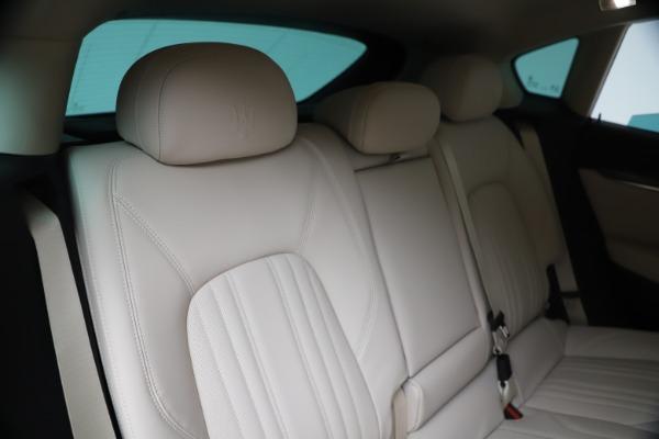 New 2020 Maserati Levante S Q4 GranLusso for sale $97,335 at Bentley Greenwich in Greenwich CT 06830 26