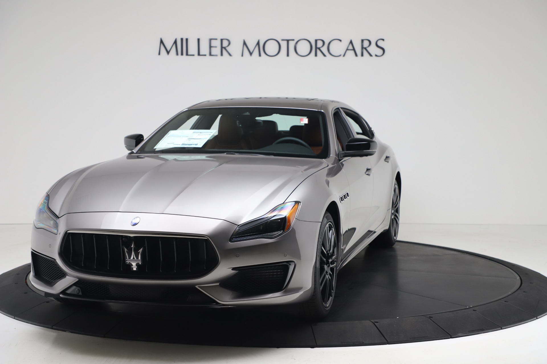 New 2020 Maserati Quattroporte S Q4 GranSport for sale $120,285 at Bentley Greenwich in Greenwich CT 06830 1