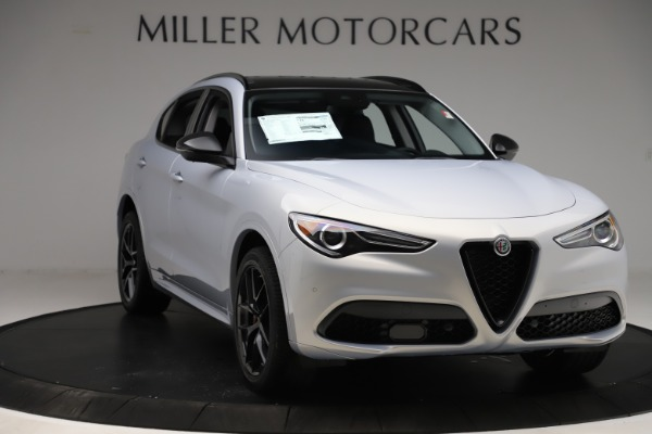 New 2020 Alfa Romeo Stelvio Ti Q4 for sale Sold at Bentley Greenwich in Greenwich CT 06830 11