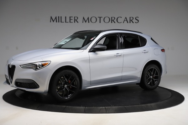 New 2020 Alfa Romeo Stelvio Ti Q4 for sale Sold at Bentley Greenwich in Greenwich CT 06830 2