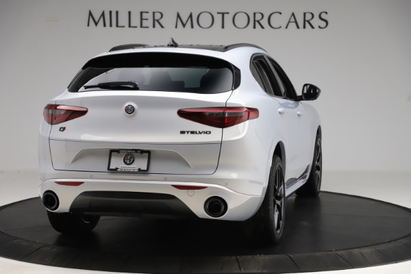 New 2020 Alfa Romeo Stelvio Ti Q4 for sale Sold at Bentley Greenwich in Greenwich CT 06830 7