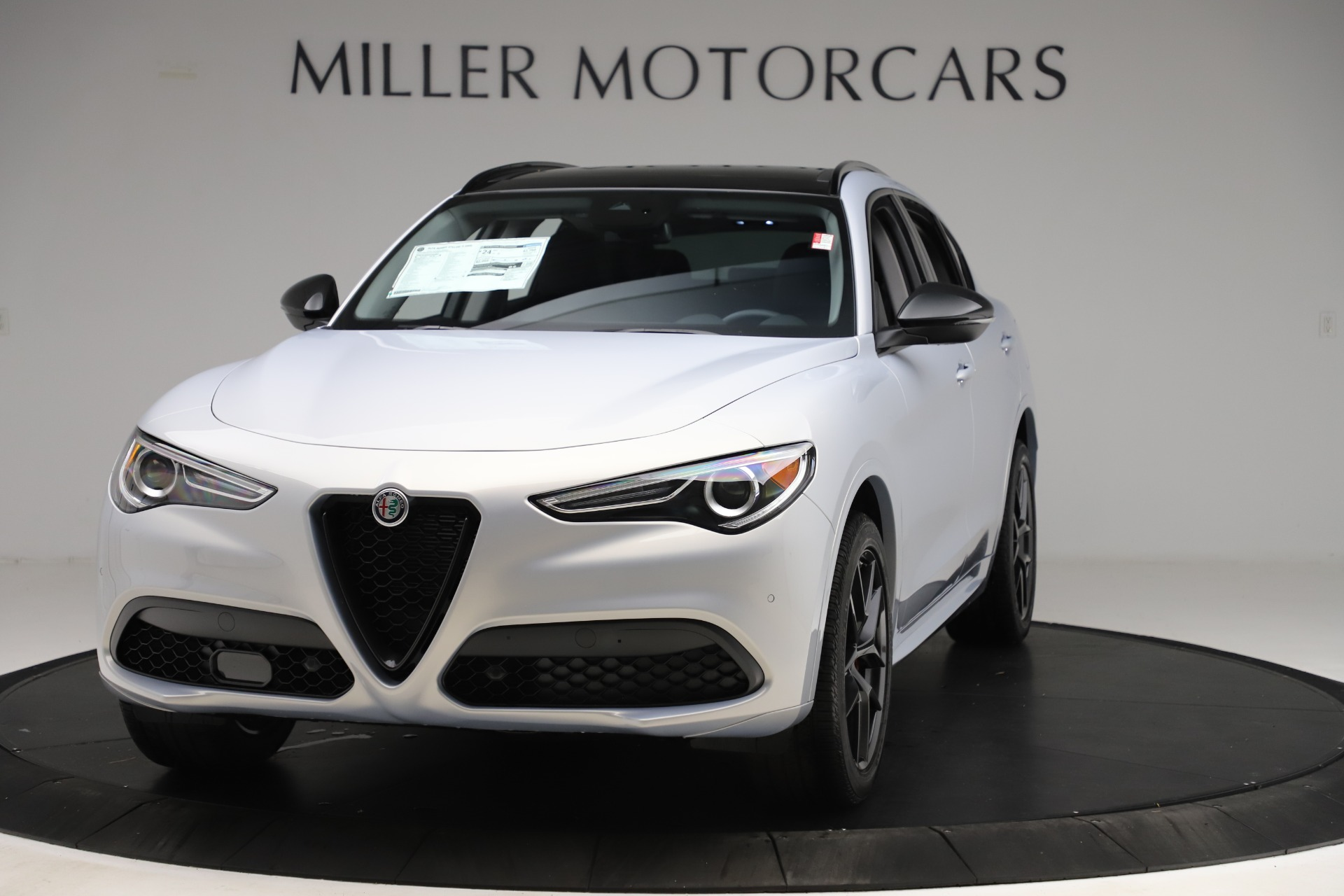 New 2020 Alfa Romeo Stelvio Ti Q4 for sale Sold at Bentley Greenwich in Greenwich CT 06830 1