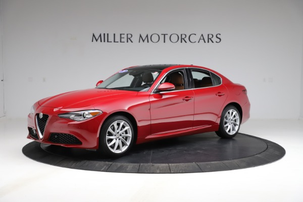 Used 2020 Alfa Romeo Giulia Q4 for sale Sold at Bentley Greenwich in Greenwich CT 06830 2