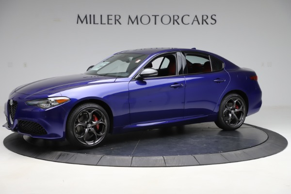 New 2020 Alfa Romeo Giulia Ti Sport Q4 for sale $50,445 at Bentley Greenwich in Greenwich CT 06830 2