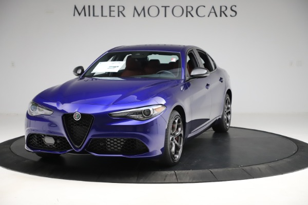 New 2020 Alfa Romeo Giulia Ti Sport Q4 for sale $50,445 at Bentley Greenwich in Greenwich CT 06830 1