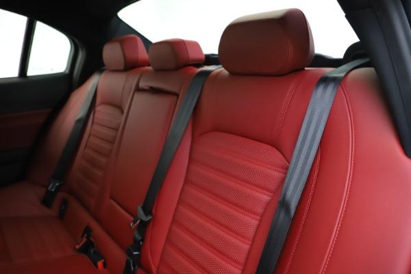 New 2020 Alfa Romeo Giulia Ti Sport Q4 for sale $51,995 at Bentley Greenwich in Greenwich CT 06830 19