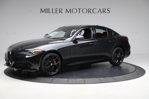 New 2020 Alfa Romeo Giulia Ti Sport Q4 for sale $52,595 at Bentley Greenwich in Greenwich CT 06830 2