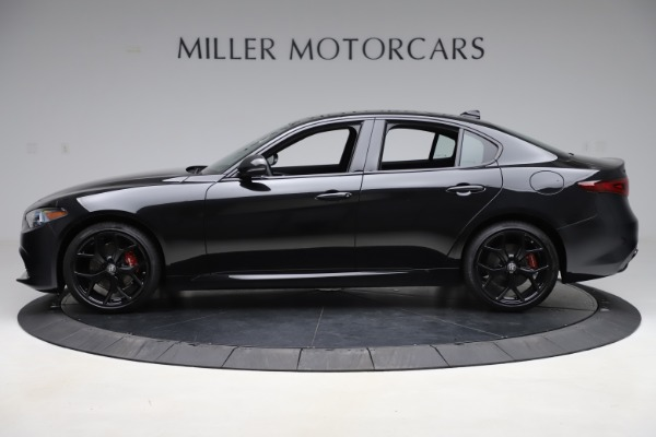 New 2020 Alfa Romeo Giulia Ti Sport Q4 for sale Sold at Bentley Greenwich in Greenwich CT 06830 3