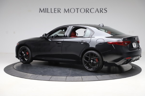 New 2020 Alfa Romeo Giulia Ti Sport Q4 for sale Sold at Bentley Greenwich in Greenwich CT 06830 4