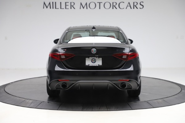 New 2020 Alfa Romeo Giulia Ti Sport Q4 for sale Sold at Bentley Greenwich in Greenwich CT 06830 6