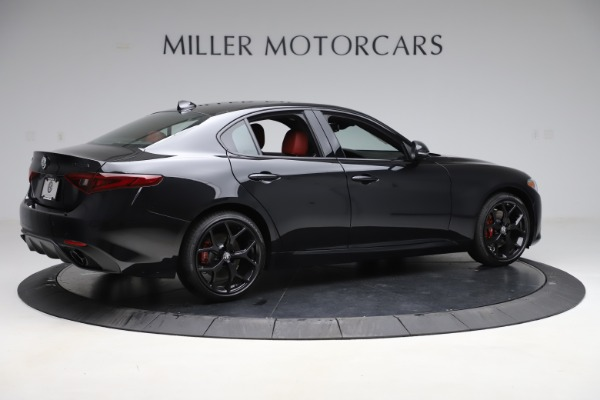 New 2020 Alfa Romeo Giulia Ti Sport Q4 for sale Sold at Bentley Greenwich in Greenwich CT 06830 8