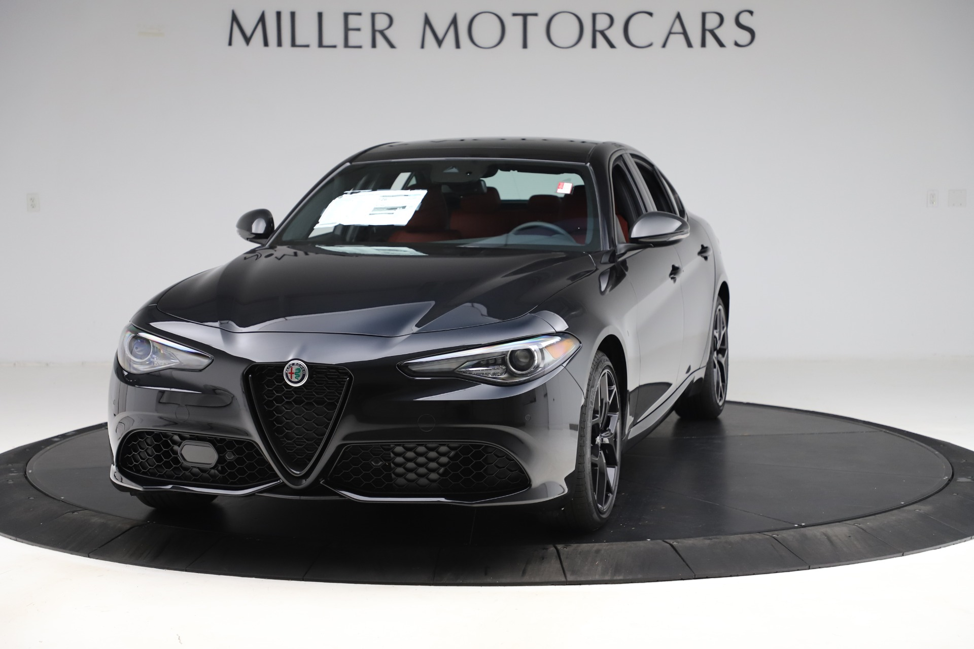 New 2020 Alfa Romeo Giulia Ti Sport Q4 for sale $52,595 at Bentley Greenwich in Greenwich CT 06830 1