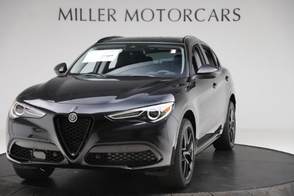 New 2020 Alfa Romeo Stelvio Sport Q4 for sale $50,795 at Bentley Greenwich in Greenwich CT 06830 1
