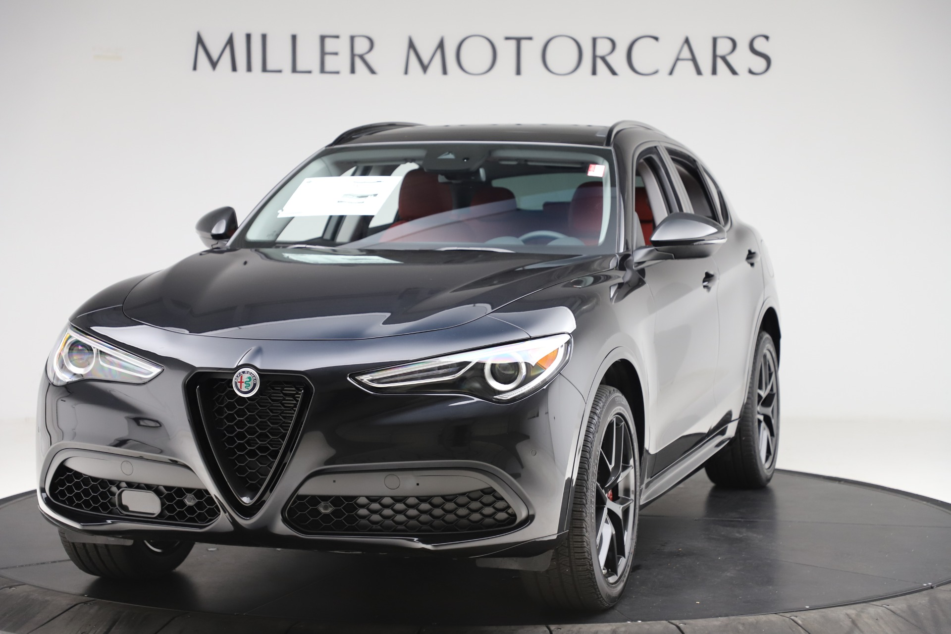 New 2020 Alfa Romeo Stelvio Sport Q4 for sale $50,795 at Bentley Greenwich in Greenwich CT 06830 1