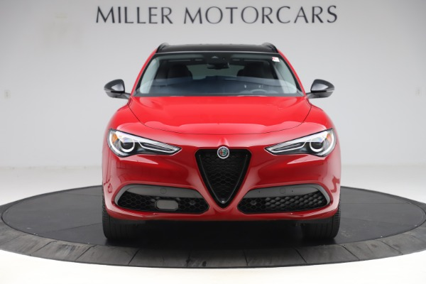 New 2020 Alfa Romeo Stelvio Sport Q4 for sale $50,495 at Bentley Greenwich in Greenwich CT 06830 12