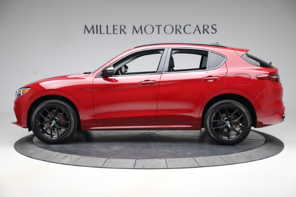 New 2020 Alfa Romeo Stelvio Sport Q4 for sale $50,495 at Bentley Greenwich in Greenwich CT 06830 3