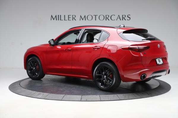New 2020 Alfa Romeo Stelvio Sport Q4 for sale $50,495 at Bentley Greenwich in Greenwich CT 06830 4