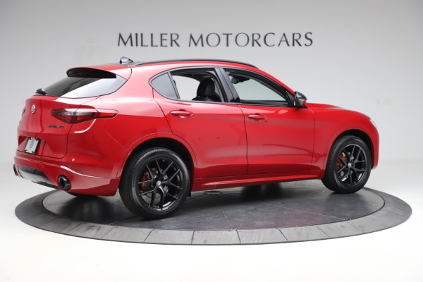 New 2020 Alfa Romeo Stelvio Sport Q4 for sale $50,495 at Bentley Greenwich in Greenwich CT 06830 8