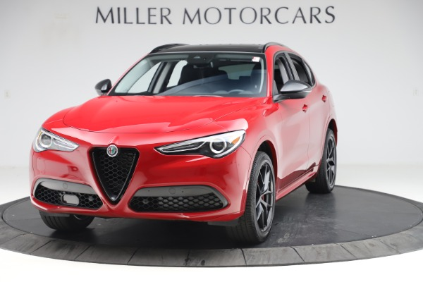 New 2020 Alfa Romeo Stelvio Sport Q4 for sale $50,495 at Bentley Greenwich in Greenwich CT 06830 1