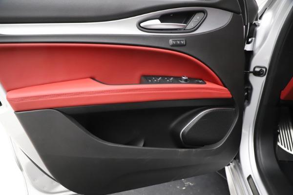 New 2020 Alfa Romeo Stelvio Ti Sport Q4 for sale Sold at Bentley Greenwich in Greenwich CT 06830 17