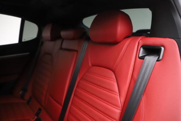 New 2020 Alfa Romeo Stelvio Ti Sport Q4 for sale Sold at Bentley Greenwich in Greenwich CT 06830 18