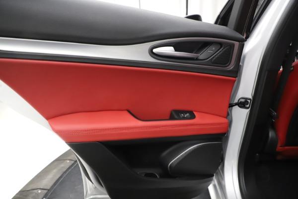 New 2020 Alfa Romeo Stelvio Ti Sport Q4 for sale Sold at Bentley Greenwich in Greenwich CT 06830 21