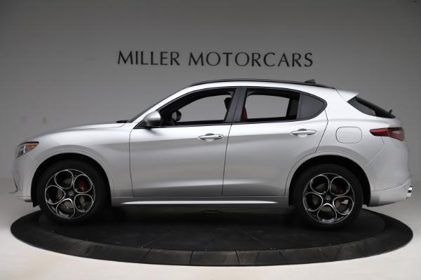 New 2020 Alfa Romeo Stelvio Ti Sport Q4 for sale Sold at Bentley Greenwich in Greenwich CT 06830 3