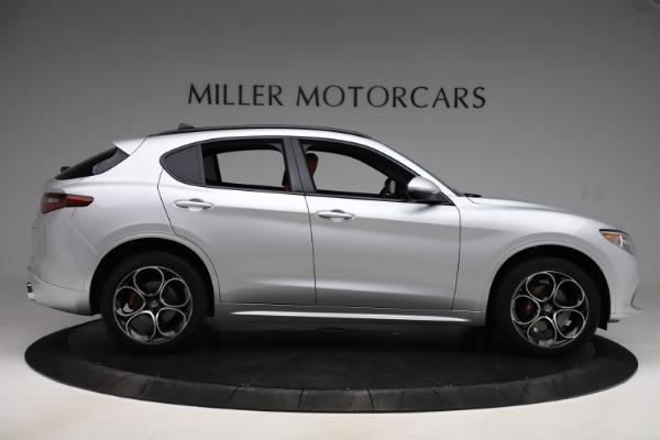 New 2020 Alfa Romeo Stelvio Ti Sport Q4 for sale Sold at Bentley Greenwich in Greenwich CT 06830 9