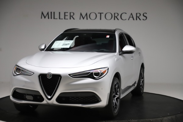 New 2020 Alfa Romeo Stelvio Ti Sport Q4 for sale $54,095 at Bentley Greenwich in Greenwich CT 06830 1