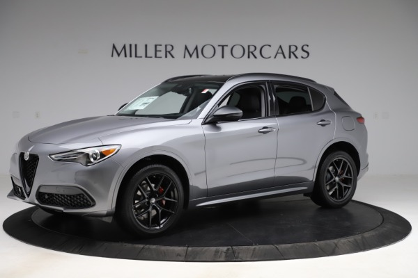 New 2020 Alfa Romeo Stelvio Sport Q4 for sale $51,095 at Bentley Greenwich in Greenwich CT 06830 2