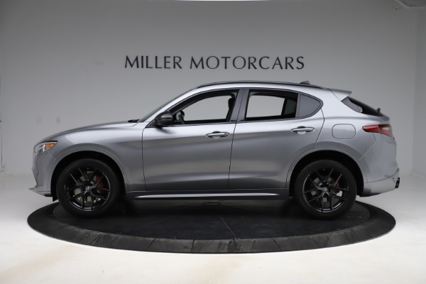 New 2020 Alfa Romeo Stelvio Sport Q4 for sale $51,095 at Bentley Greenwich in Greenwich CT 06830 3