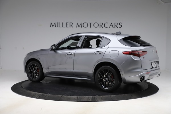 New 2020 Alfa Romeo Stelvio Sport Q4 for sale $51,095 at Bentley Greenwich in Greenwich CT 06830 4