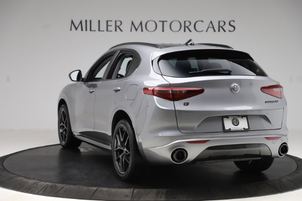 New 2020 Alfa Romeo Stelvio Sport Q4 for sale $51,095 at Bentley Greenwich in Greenwich CT 06830 5