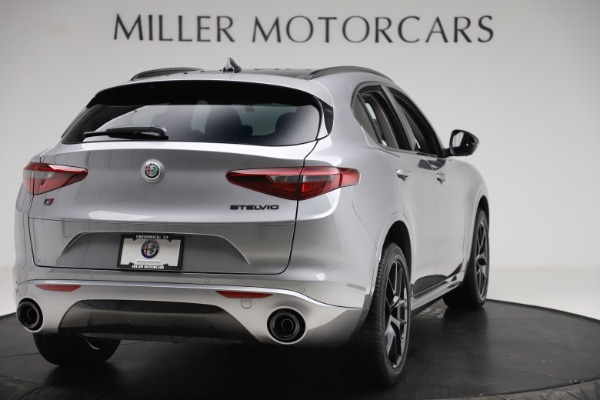 New 2020 Alfa Romeo Stelvio Sport Q4 for sale $51,095 at Bentley Greenwich in Greenwich CT 06830 7