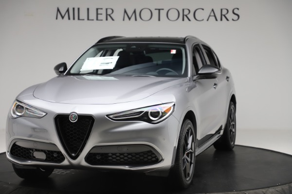 New 2020 Alfa Romeo Stelvio Sport Q4 for sale $51,095 at Bentley Greenwich in Greenwich CT 06830 1